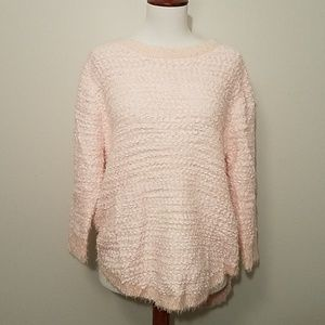 NWT Hannah light pink sweater